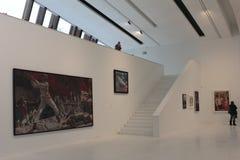 Exposición el mito soviético en el museo de Drents en Assen Imagenes de archivo