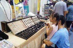 Exposición famosa de la ropa de la marca del international de Shenzhen Fotos de archivo