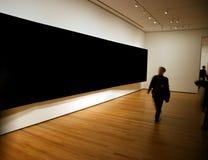 Exposición grande del panel en blanco Imagen de archivo libre de regalías