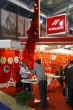Exposición internacional MosBuild 2011 Imágenes de archivo libres de regalías
