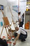 Exposición internacional MosBuild 2011 Imagen de archivo
