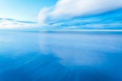 Exposición larga al mar Fotos de archivo libres de regalías