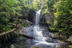 Exposición larga de Jericho Falls Foto de archivo libre de regalías