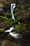 Exposición larga de la cascada Foto de archivo