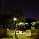 Exposición larga de la noche Fotos de archivo libres de regalías