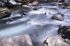 Exposición larga IV de los rápidos de Deer Creek Fotos de archivo libres de regalías