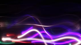 Exposición larga, movimiento borroso, lapso de tiempo, imagen móvil loopable metrajes