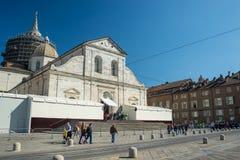 Exposición santa de la cubierta 2015 en Torino Foto de archivo libre de regalías