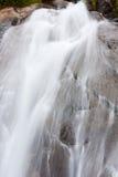 Exposición sincronizada de la cascada Foto de archivo libre de regalías