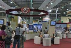 Exposición 2013 de la expo del joyero en Kiev Foto de archivo libre de regalías