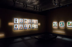 Exposición de Pieter Hugo en Estocolmo Fotos de archivo