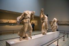 Exposiciones de British Museum Foto de archivo