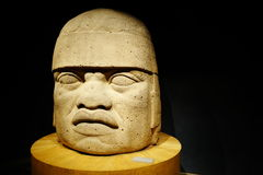 Exposiciones en el Museo Nacional de la antropología, Ciudad de México Fotos de archivo libres de regalías