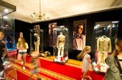 Exposição do vestuário dos filmes no castelo de Ksiaz Fotos de Stock Royalty Free