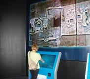 Exposition à la mémoire du titanique Photos stock