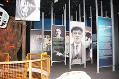 Exposition à la mémoire du titanique Images stock