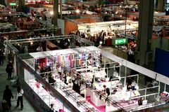 Exposition 2009 de passe-temps de Milan Photographie stock