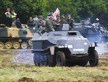 Exposition 2011 de guerre et de paix Photos stock