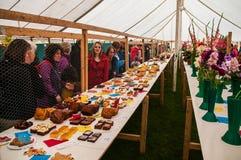 Exposition agricole de Cartmel Photos libres de droits