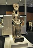 Exposition Animale et pharaons Photo stock