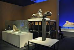 Exposition Animale et pharaons Photos libres de droits