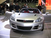 The exposition of the auto show in Los Angeles 2005. Royalty Free Stock Photos