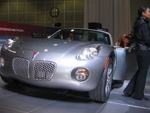 The exposition of the auto show in Los Angeles 2005. Stock Images