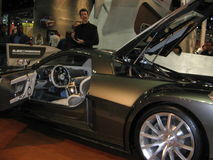 The exposition of the auto show in Los Angeles 2005. Royalty Free Stock Photo