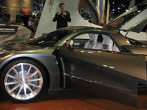 The exposition of the auto show in Los Angeles 2005. Royalty Free Stock Images