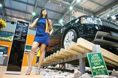 Exposition automobile Photo libre de droits