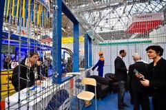 Exposition 2012, avril, 11 2012, Moscou, Russie de MosBuild Photos libres de droits