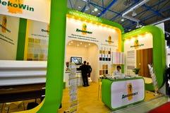 Exposition 2012, avril, 11 2012, Moscou, Russie de MosBuild Image stock