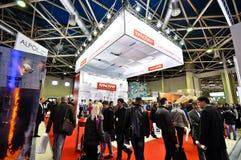 Exposition 2012, avril, 11 2012, Moscou, Russie de MosBuild Photographie stock libre de droits