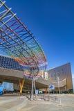 Trade Fairs and Congress Center in Malaga, Spain. MALAGA, SPAIN - 2017 - Exposition, Congress and Trade Fairs Center in Malaga, Spain. The building has a total royalty free stock photography