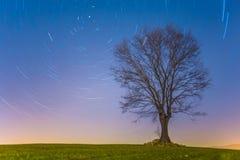 Exposition d'étoile de vortex images libres de droits