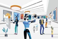 Exposition d'art avec la réalité augmentée