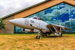 Exposition d'avions photo libre de droits