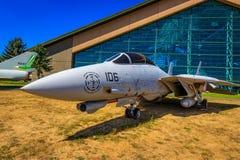 Exposition d'avions image libre de droits