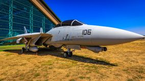 Exposition d'avions image stock