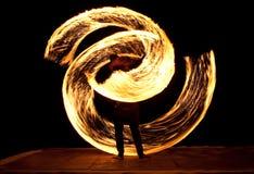 Exposition d'incendie Image libre de droits