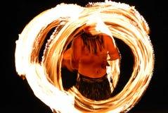 Exposition d'incendie Photographie stock