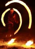 Exposition d'incendie Photo libre de droits