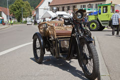 Exposition d'Oldtimer Photographie stock