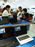 Exposition d'ordinateur Photo libre de droits