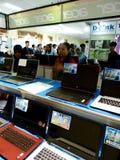 Exposition d'ordinateur Photos libres de droits