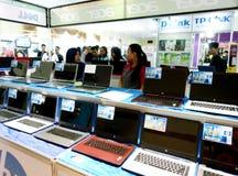 Exposition d'ordinateur Images libres de droits