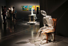 Exposition dans l'Eretz Israel Museum Images stock