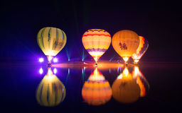 Exposition de ballons Photos stock