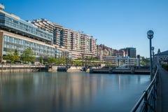 Exposition de barrage de Genève longue Image stock