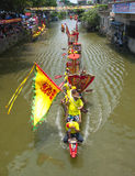 Exposition de bateau de dragon Photographie stock